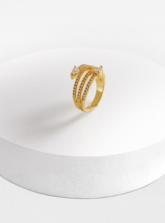 Anillo Ajustable Snake Do...